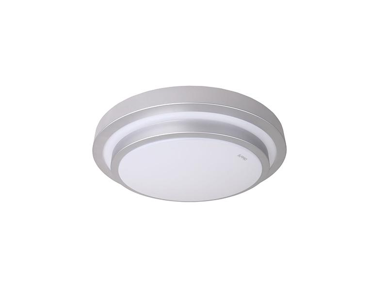 欧普(Opple)朗月LED吸顶灯客厅卧室用MX350-D0.4*38-02-朗月-银灰-5700K