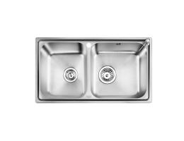 欧琳 不锈钢双槽厨盆407