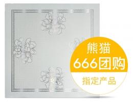 华狮龙铝扣板A-粉红牡丹
