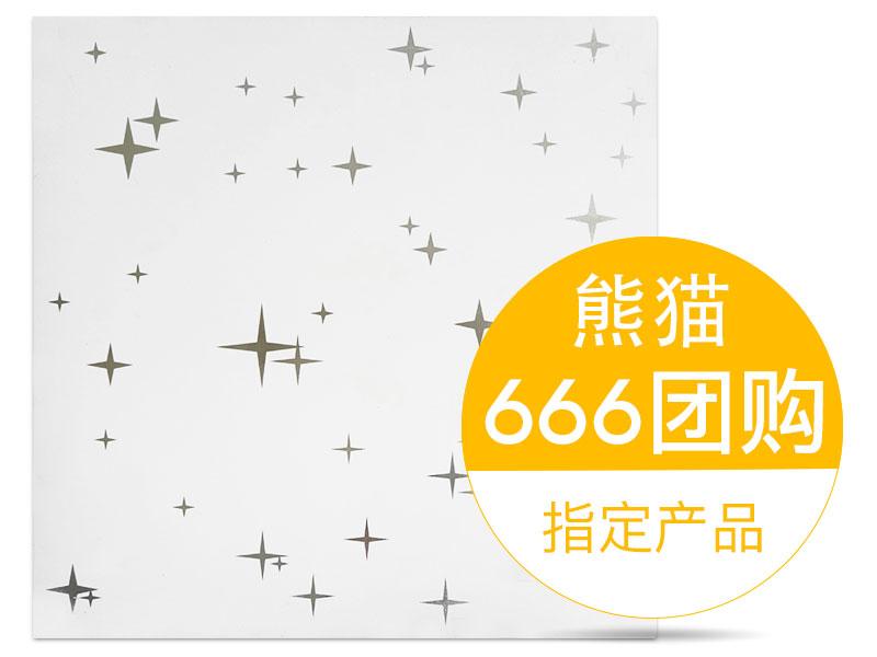 华狮龙铝扣板A-满天星