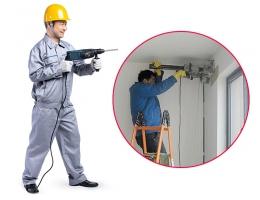 预处理-拆旧工程-墙面打孔服务