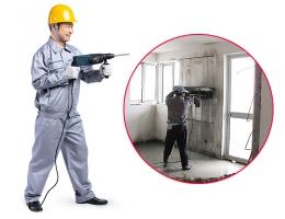 预处理-拆旧工程-墙体切除服务