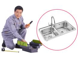 硬装-安装工程-厨房水槽安装
