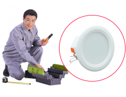 硬装-安装工程-筒灯安装