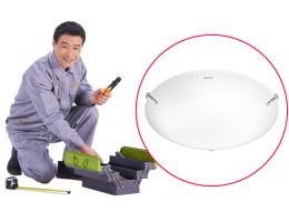 硬装-安装工程-吸顶灯安装