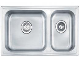 摩恩MOEN 水槽不锈钢双槽套装 (27109+60201)