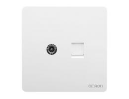 欧姆龙 电视+电脑超五类 C4R-A86-TVT8-B