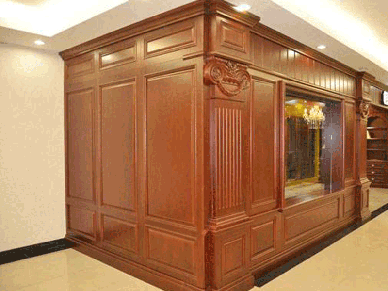 伟询护墙板 实木多层系列 18mm实木多层板原木色系列