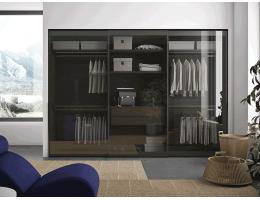 伟询衣柜移门 铝合金玻璃移门系列1