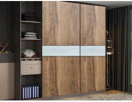 伟询衣柜移门  实木多层板移门系列3