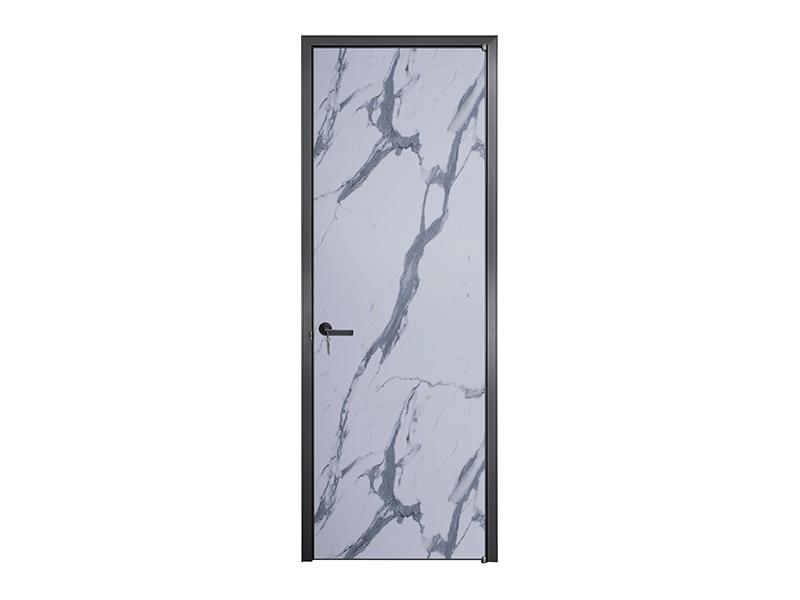 伟询室内门 极简门系列 铝合金生态门 实木多层门板 花色系列2
