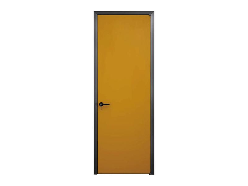 伟询室内门 极简门系列 铝合金生态门 实木多层门板 纯色系列2