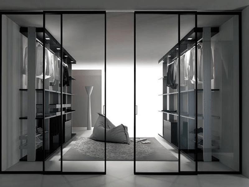 伟询衣柜移门  铝合金玻璃移门系列2