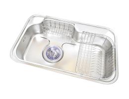 菊池水槽 不锈钢水槽单槽系列 LS840