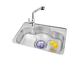 菊池水槽 不锈钢水槽单槽系列 LN750