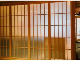 居家和室和室门移门 日式格子门 玻璃格子门