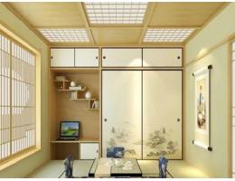居家和室装饰线条/吊顶 日式格子吊顶