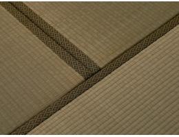 居家和室榻榻米草席 棕垫+草席-深色系列