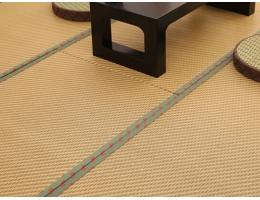 居家和室榻榻米草席 棕垫+藤席-深色系列