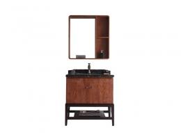 伯群浴室柜(6601-80)实木浴室柜 800宽浴室柜