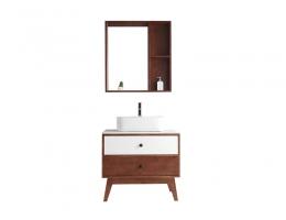 伯群浴室柜(6602a)实木浴室柜 800宽浴室柜