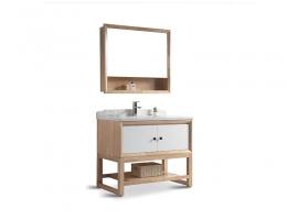 伯群浴室柜(6603-100)实木浴室柜 100宽浴室柜