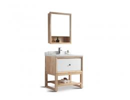 伯群浴室柜(6603-80)实木浴室柜 800宽浴室柜