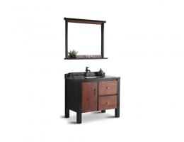 伯群浴室柜(6604)实木浴室柜 1米宽浴室柜