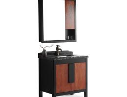 伯群浴室柜(6605)实木浴室柜 800宽浴室柜