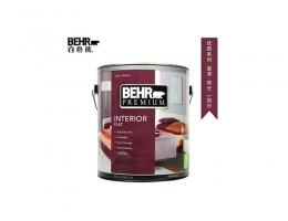 【百色熊(Behr)优质哑光可调色】美国原罐原装进口内墙乳胶漆环保水性涂料