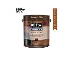 【百色熊(Behr)纳米平光可调色】美国原罐原装进口内墙乳胶漆环保水性涂料
