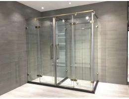 佐岚门窗淋浴房 10mm钢化玻璃防爆淋浴房