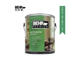 【百色熊(Behr)优质蛋壳光可调色】美国原罐原装进口内墙乳胶漆环保水性涂料