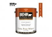 【百色熊(Behr)超级系列哑光可调色】美国原罐原装进口内墙乳胶漆环保水性涂料