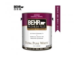 【百色熊(Behr)超级系列蛋壳光可调色】美国原罐原装进口内墙乳胶漆环保水性涂料