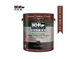 【百色熊(Behr)纳米蛋壳光】美国原罐原装进口内墙乳胶漆环保水性涂料