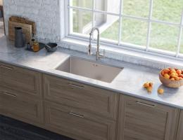 【美国克劳思1.5mm厚304不锈钢手工水槽单槽套装台下式洗碗池】美国克劳思1.5mm厚304不锈钢