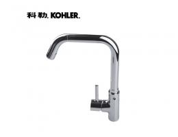【科勒K-97274T-4-CP可芙加高单控厨房 水龙头】科勒K-97274T-4-CP可芙加高单控