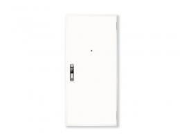 【德国诺沃芬 防盗门】双开入户门白色定做门子母门简约进户门定制