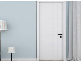 【兔宝宝木门 简约家用室内门】卧室门定制含门套 静音免漆生态木门T2
