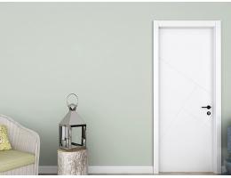 【兔宝宝木门 简约室内门】卧室静音木门实木复合定制含门套T1混油木门