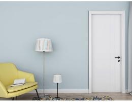 【兔宝宝木门 简约室内门】卧室门定制含门套 静音免漆生态木门E-046