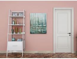【兔宝宝木门 简约室内门】卧室门定制含门套 静音免漆生态木门1075