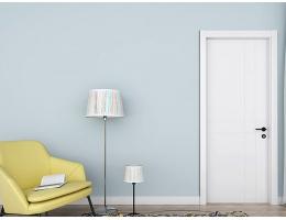 【兔宝宝木门 简约室内门】卧室静音木门实木复合定制含门套T2混油木门