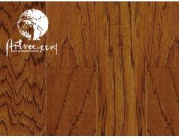大艺树 实木复合地板 圣殿山核桃