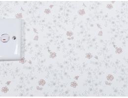 lilycolor/丽彩 现货进口日本PVC墙纸 清新花纹花朵电视沙发背景和式榻榻米 CL148/C