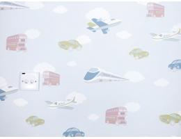 lilycolor/丽彩 儿童房 男孩女孩卡通天空火车飞机汽车温馨卧室 日式榻榻米 19004