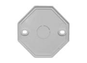 硬装-隐蔽辅料【八角盖板】86线盒配套盖板-电线辅料零配