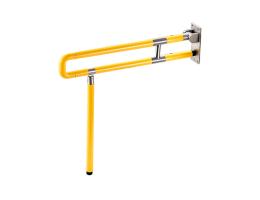 摩尚【家用安全扶手】塑钢一体可折叠U型安全扶手-马桶扶手-淋浴扶手-洗手台扶手-老年人、残疾人室内无障碍专用扶手