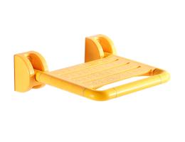 摩尚【家用折叠淋浴坐凳】塑钢一体挂壁式折叠坐凳-淋浴坐凳-老年人、残疾人室内无障碍专用